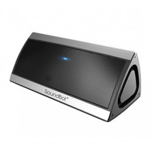 SoundBot SB520 3D HD Bluetooth 4.0 Wireless Speaker for 15 Hours Music Streaming & Hands-Free Calling with Passive Sub Woofer