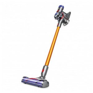 Dyson V8 Absolute Cord-Free Stick Vacuum, Iron/Yellow (Certified Refurbished)