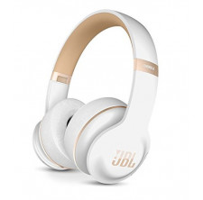 JBL Everest Elite 300 NXTGen Noise-Canceling Bluetooth On-Ear Headphones (White)