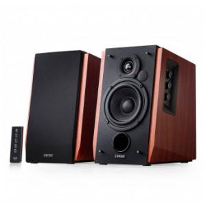 Edifier R1700BT Bluetooth Bookshelf Speakers - Active Near-field Studio Monitors - Powered Speakers 2.0 Setup Wooden Enclosur