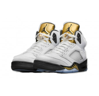 Air Jordan 5 Retro Olympic (Gold Metal) 136027-133 August 20, 2016 Release Men's Size (12)