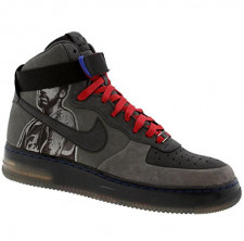 Nike Air Force 1 07 High Supreme Next Six NBA Players - Rasheed Wallace Edition flint grey anthracite varsity red Size 11 US