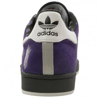 new products f788f d4118 Adidas Men s ADIDAS SUPERSTAR 1 NBA SACRAMENTO KINGS BASKETBALL SHOES 11 (CO  PURPLE RUN WHITE BLACK)