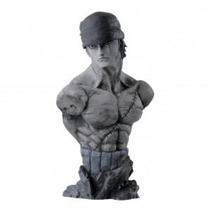 Banpresto One Piece 6.3-Inch Creator x Creator Rough Edges Roronoa Zoro Bust A