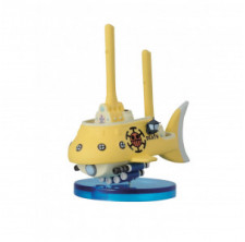 Banpresto One Piece Law's Submarine Figure - The History of Law