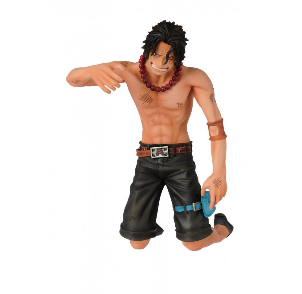 "Banpresto One Piece 4.7"" Ace Figure, Dramatic Showcase"