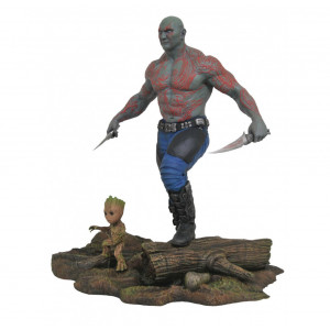 Diamond Select Toys Marvel Gallery Guardians of The Galaxy Vol. 2 Drax & Groot PVC Figure