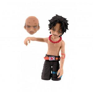 Banpresto One Piece 3.6-Inch Ace Cry Heart Series Figure, Volume 3