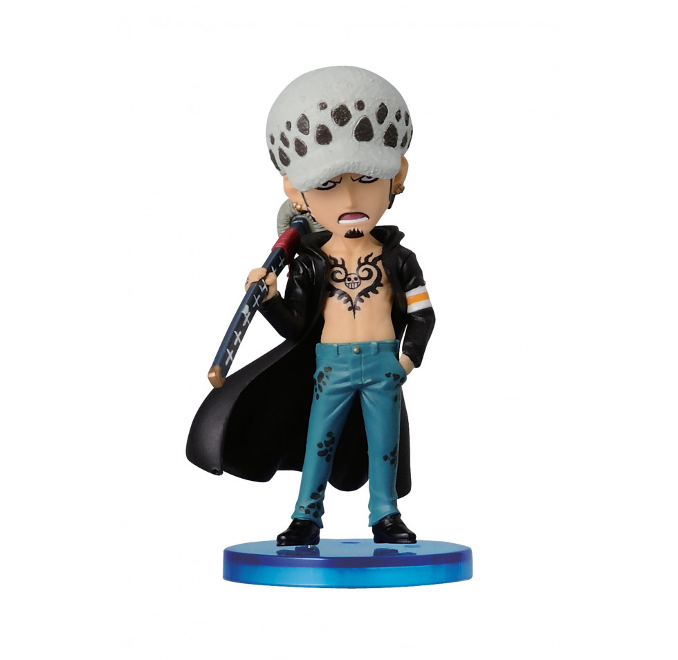 "Banpresto One Piece 2.8"" Law Figure - The History of Law"