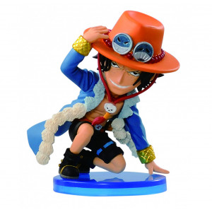 Banpresto One Piece 3-Inch Ace World Collectible Figure, Log Collection Volume 2