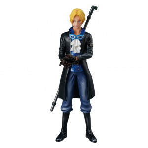 Shokugan One Piece 5.1-Inch Sabo Flame of The Revolution Figure, Valiant Material Series
