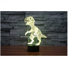 3D Lamp LED night light Touch Table Desk Dinosaur Lamp 7 Colors 3D Optical Illusion Lights Christmas Gifts