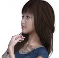 SHOW GIRL obj 3D MODEL